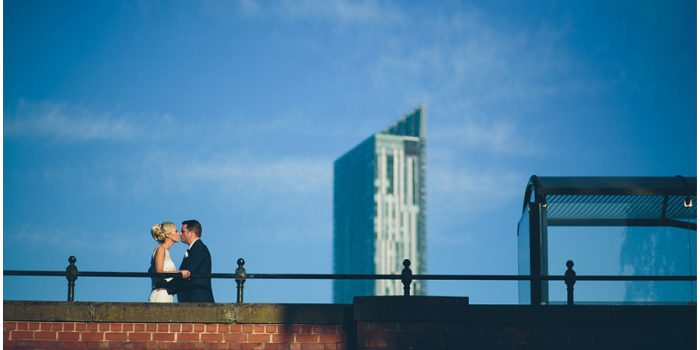 Danielle + Ant's Wedding at the Marriott in Manchester