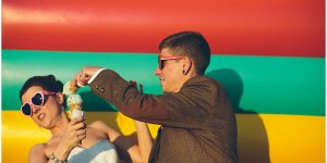 Katy + Tom's Big Top Circus Tent Wedding