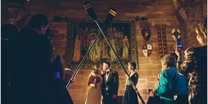 Rachel + Ian's Wedding at Peckforton Castle