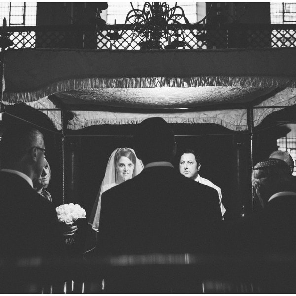 Deborah and David's Jewish Wedding at Bevis Marks Synagogue in London