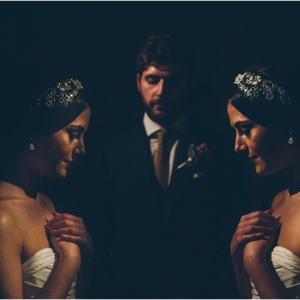 Kyriaki + Elliot's Greek Wedding at Crewe Hall