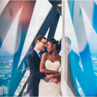 YVONNE + WOJCIECH'S WEDDING AT THE GHERKIN