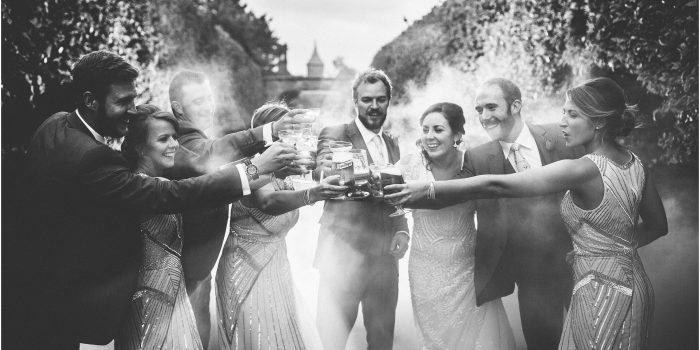 Emma + Dave's Wedding at Combermere Abbey