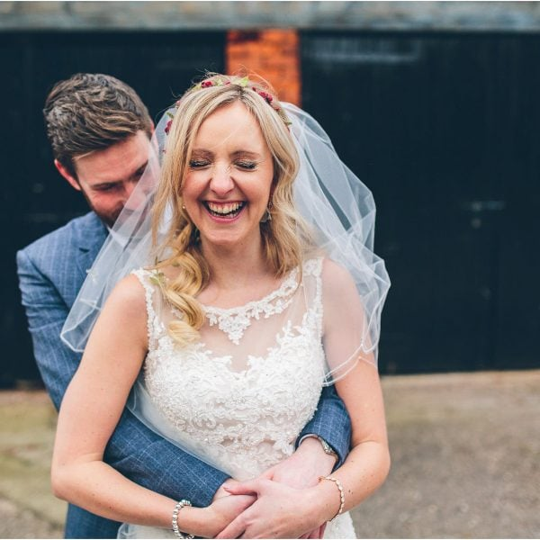 Alex + Aaron's Wedding at Packington Moor Farm