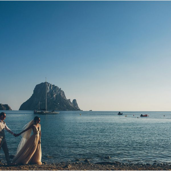 Ilona + Alex's Destination Wedding in Ibiza