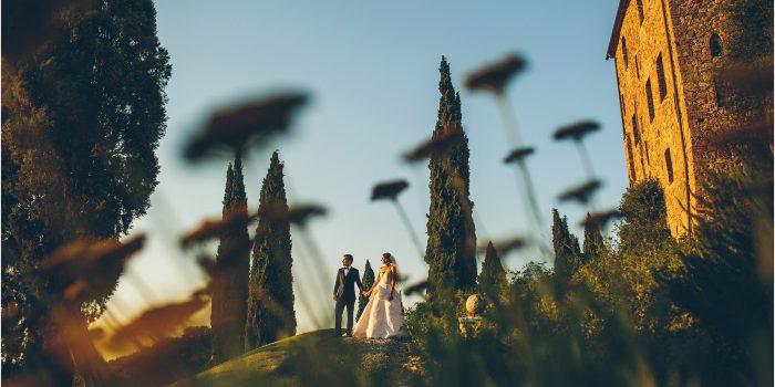 Gaye + Baris' Wedding at Castello di Vicarello - Tuscany