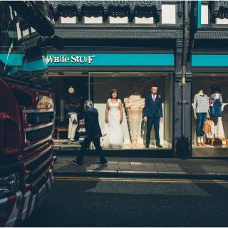Claire + Nick's Chester Town Hall Wedding